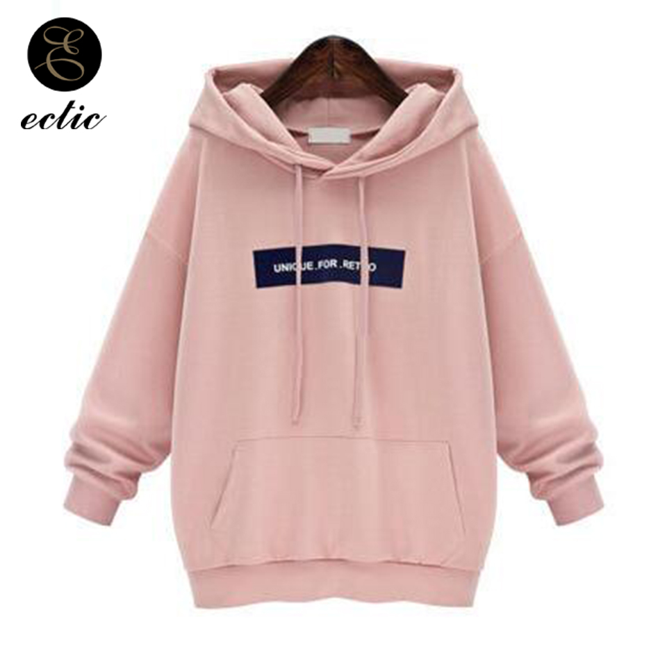 a6ba38a60ac Detail Feedback Questions about Poleron Mujer 2018 Kangaroo Pocket Hoodie  Unique Sweatshirts Retro Tracksuit Oversized Hoodies Women Vs Pink Letter  Nct Kpop ...