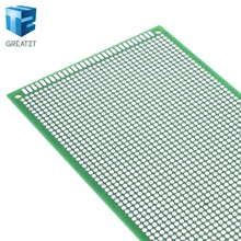 1PCS  9×15 cm PROTOTYPE PCB 2 layer 9*15CM panel Universal Board double side 2.54MM Green