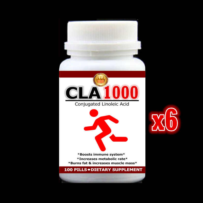 500MG 600tablets CLA 1000 Capsules Conjugated Linoleic Acid Boosts immune system Burns fat & increases muscle mass Free shipping l carnitine 500 mg 60 caplets compound that assists in fat metabolism free shipping