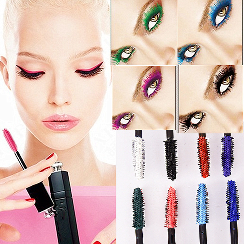 Mascara Dragon Ranee 8 Colors New Professional Cosmetic Mascara Extension Long Curling Eyelash Easy Remove Colorful Mascara Tool Am002 Sale Overall Discount 50-70%