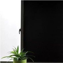 Privacy window film Blackout Anti-UV glass sticker Static Window Tint 100% Light Blocking Frosted Bedroom Decorative Vinyl Film