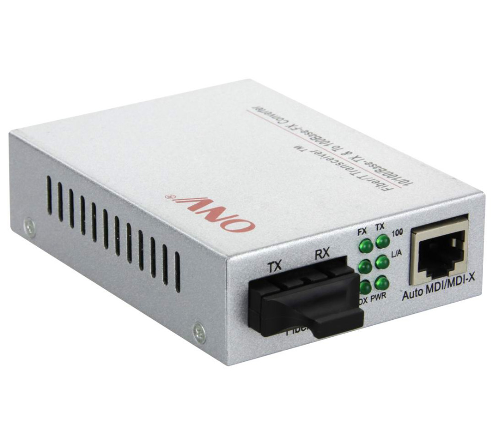 0/100M Single Port High Power PoE Media Converter with SC Fiber Port. Compatible with IEEE802.3at(25.5W) new single fiber single mode optical transceiver 10 100m 1000mbps sc port 20km 2ch fiber 8ch rj45 fiber optical media converter