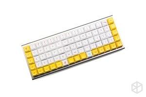 Image 4 - Kprepublic 黄色のアヒル染料 subbed dsa プロファイル桜プロファイル色素サブキーキャップ PBT ため xd75 am 再 planck preonic