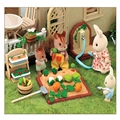 New Arrival Sylvanian Families Toy Miniature Furniture Vegetable Garden Set Kids Pretend Toys Girls Gifts Furniture for Dolls