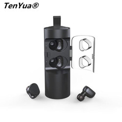T056 TWS Wireless Earphones Sport Bluetooth V4.2 Noise Cancelling Headset With Charger box Mini Stereo Headset For Phone