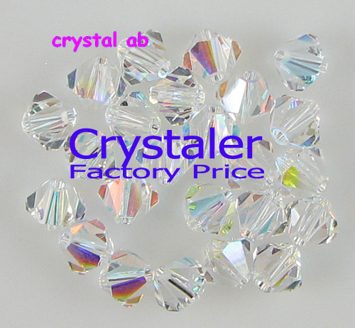 K9 Crystal Grade AAAA 5301 # 3mm 4mm 5mm 6mm 8mm crystal ab color Crystal Bicone Beads