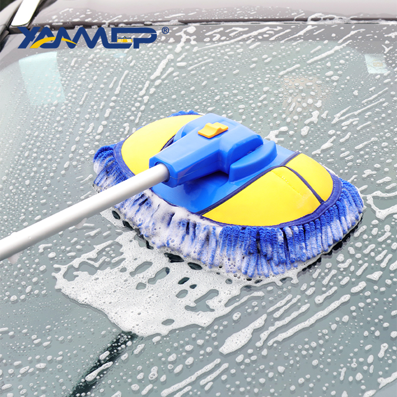 Car wash mop with handle best ear protection