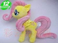 Movies & TV 32cm beautiful horse plush toy about 12 inch toy children favorite gift w848