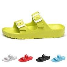 a4504f239b0bb XINIU nowych kobiet buty w stylu casual moda plaża oddychające klapki  japonki buty domu łazienka plaża