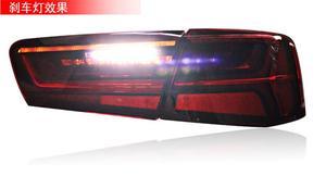 Image 2 - A6L A6 2012 2016テールライト、C7、カーアクセサリー、A6Lヘッドライト、led a6lテールライトled、A6L耳ランプcertaテールライト自動車