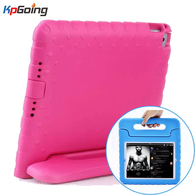 For iPad 2 Case Lovely Safe EVA Foam Shockproof Protective Cover for iPad 3 iPad 4 Children Kids Cute TV Stand for iPad 2 3 4 shockproof kids children save protective