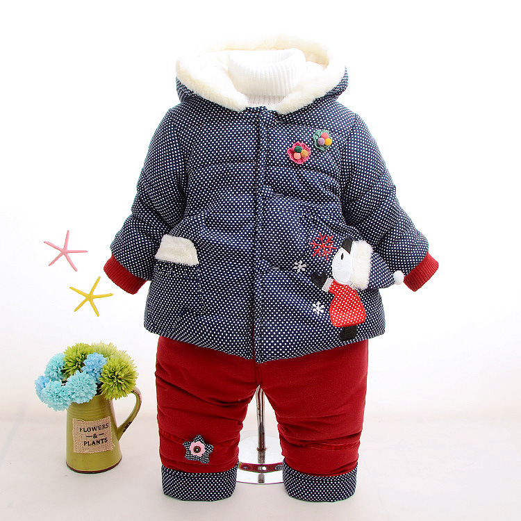 Hot Winter Velvet Kids Clothes Baby Girls Clothing Set Children Clothes Sets Toddler Girl Clothes Korean