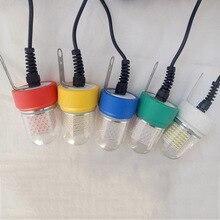 Светодиодный подводный светильник, 60 Вт, 360 градусов, водонепроницаемый светильник для приманки рыбы, лампа для приманки рыбы на 12 В, для морской лодки, яхты