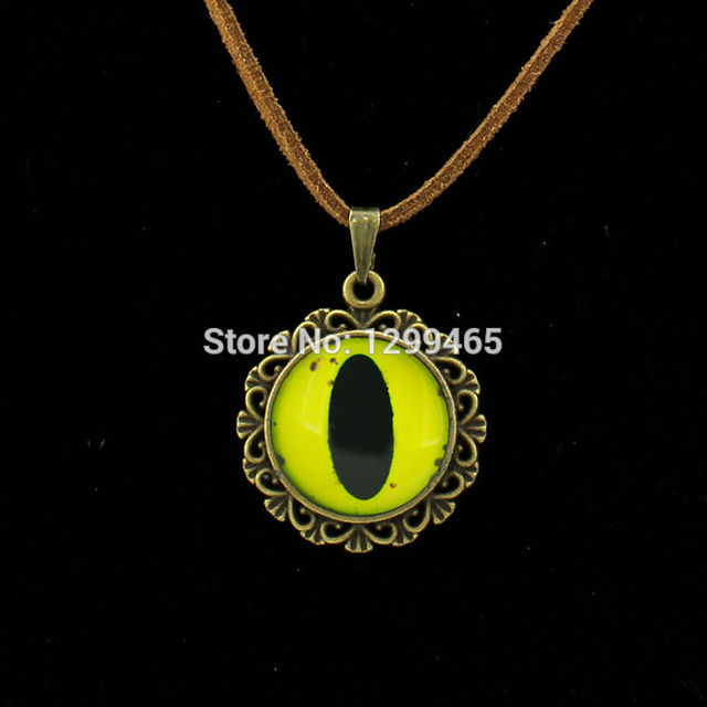Retro ethnic style eye frost leather necklace dragon eyeball pendant retro ethnic style eye frost leather necklace dragon eyeball pendant dragon jewelry art picture glass cabochon aloadofball Choice Image