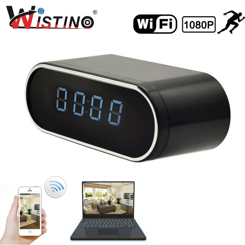 Wistino 1080P WI-FI Mini Câmera Com o Tempo Sem Fio Detecção De Movimento Home Security Nanny Câmera de Segurança P2P IOS Android IP câmera