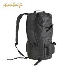 Men Cylindrical Fishing Big Backpack Outdoors Satchel Travel Bags Organizer Duffle Bag Luggage Duffel Weekend Traveling Handbag