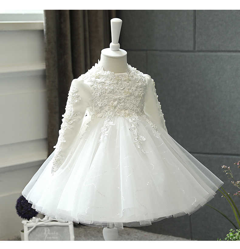 a344f7de3afc Detail Feedback Questions about Baby Frock Toddler Party Wear Long ...