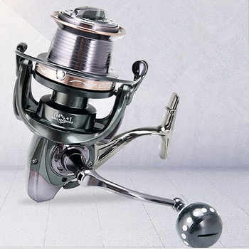 12000-10000-9000 full metal spool Jigging trolling long shot casting for carp and salt water surf spinning fishing reel