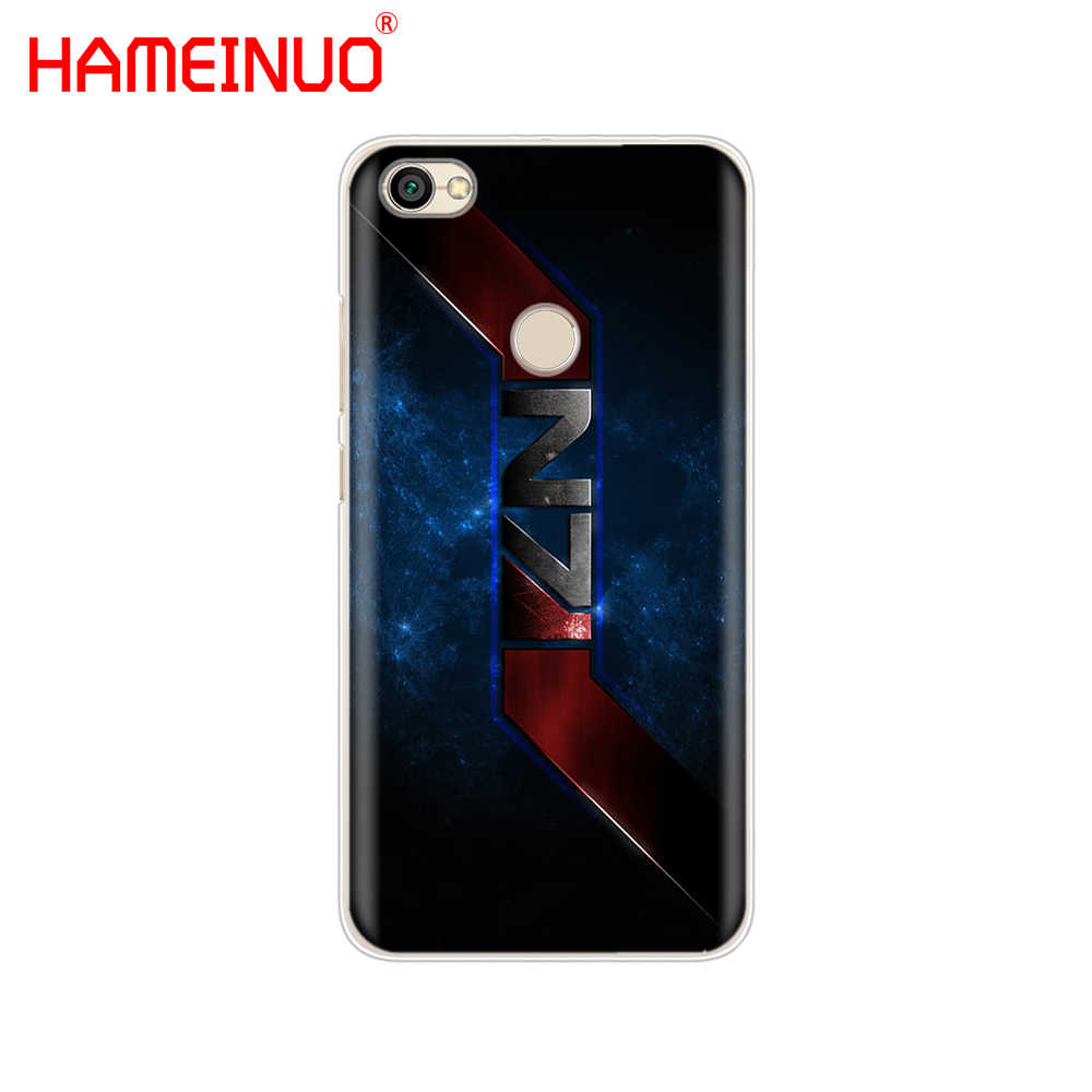 HAMEINUO Mass Effect N7 Penutup telepon Kasus untuk Xiaomi redmi 5 4 1 1 s 2 3 3 s pro DITAMBAH redmi catatan 4 4X 4A 5A
