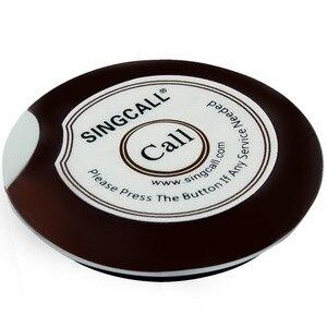 Image 5 - Sistema de cola SINGCALL camarero llamador 1 receptor de reloj resistente al agua y 5 botones de zumbador para café o casa de té, restaurantes