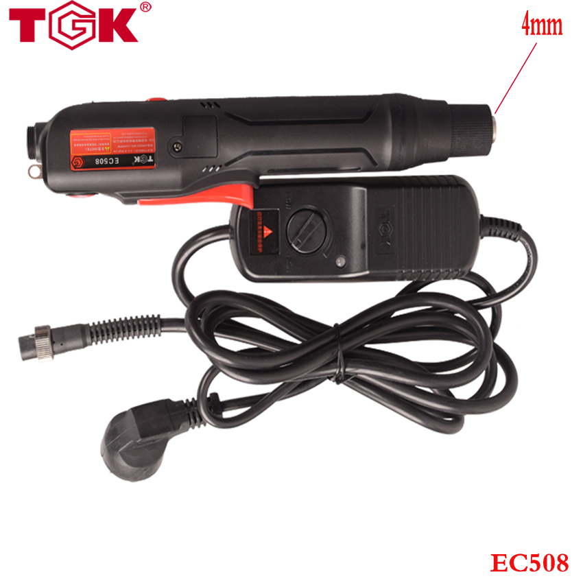 (1 piece/lot) EC508 SEMI-AUTO Electrical Screwdriver + Power Supply +2 Spare 4mm Bits Torque 0.5-8 kgf-cm ,speed 800-1500 rpm