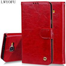 купить LWYOFU flip phone case For Samsung A3 2017 sm-a320f wallet leather case Galaxy A3 2017 mobile phone flip casese дешево