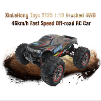 RC Car 9125 2.4G 1:10 1/10 Scale Racing Cars Car Supersonic Monster Truck Off Road Vehicle Buggy Electronic Remote Control Toys