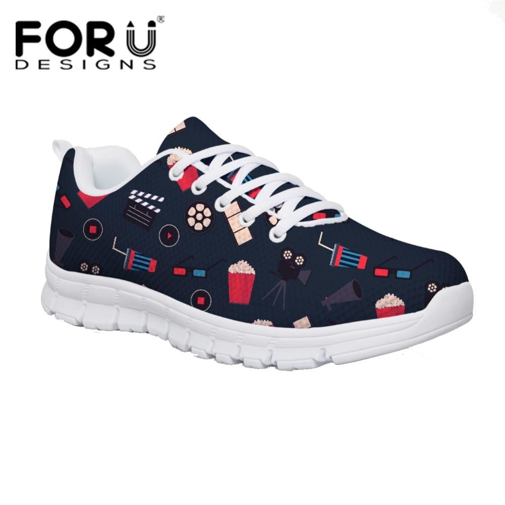 303c22838c4700 Appartements Film Baq Ladies Printemps Chaussures Casual cc4391aq send  Forudesigns Femmes cc4394aq Sneakers Me Impression Confortable ...