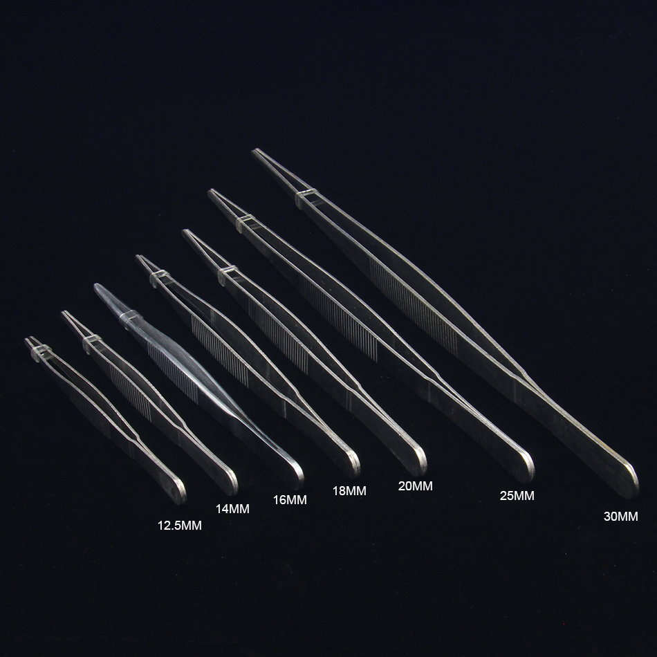 Thickening And Lengthening Industrial Tweezers Lot Specification Stainless Steel Medical Round Head Toothed Tweezers Free Shippi