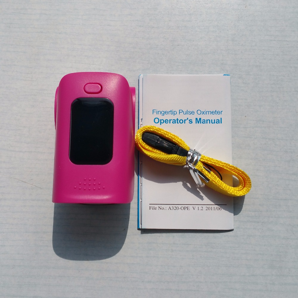 Medical Finger Pulse Oximeter with Low Voltage Indicator and OLED Display for Child and Adult