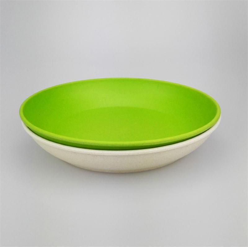 8 8-16 ... & 2pcs Deep dishes dinner plate new design deep bowls bamboo fiber ...