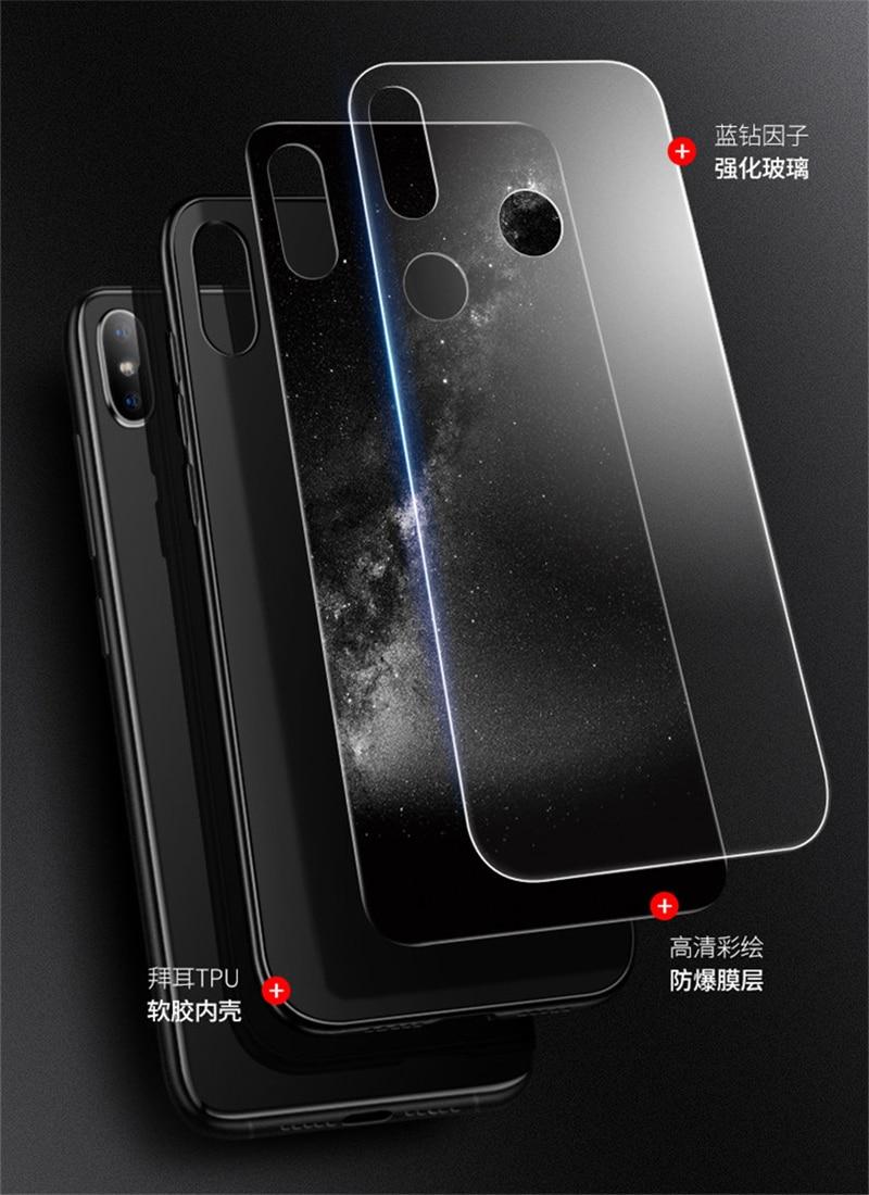 Aixuan Glass Case For Xiaomi Mi Mix 3 (2)