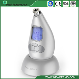 Image 1 - Bạc Newdermo Pro Siêu Vi Điểm Cá Nhân Microderm Mặt Thiết Bị 3.7V Massage Chăm Sóc Da Làm Đẹp Miễn Phí Vận Chuyển