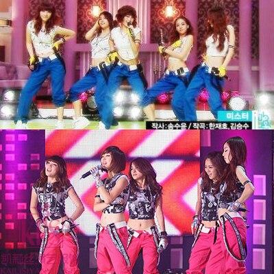 aee4465b250b5 Modernos pantalones de danza jazz girls generation ropa de baile moda  cantante para mujer de hip