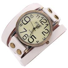 2019 Retro Women Men Multilayer Faux Leather Strap Belt Analog Quartz Wrist Watch цена