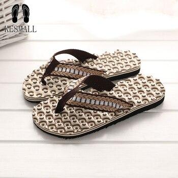 ... KESMALL Wholesale Summer Men Flip Flops Bathroom Slippers Men Casual  EVA Shoes Fashion Summer Beach Sandals 1dd55d61ef9