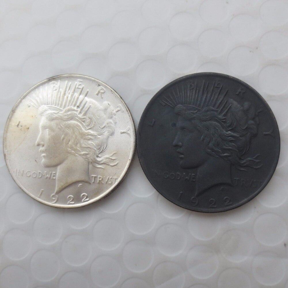 ᑐBatman Dark Knight Harvey dos Cara (blanco y negro) 1922 moneda de ...