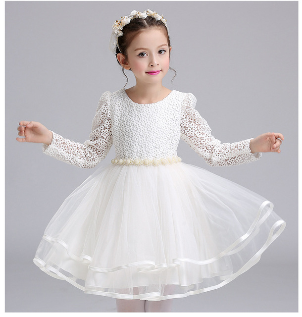 Aliexpress.com : Buy Autumn Winter Lace high grade Dress For Baby ...