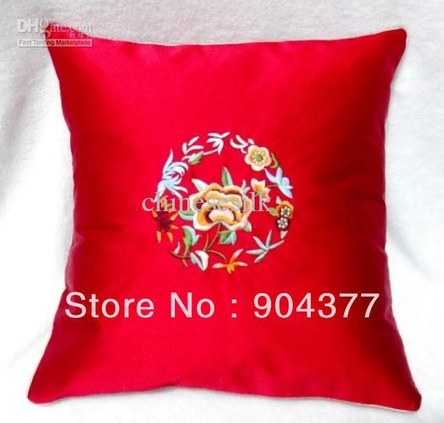 Aliexpress Com Buy Red Zippered Couch Cushion Covers New 18 X 18