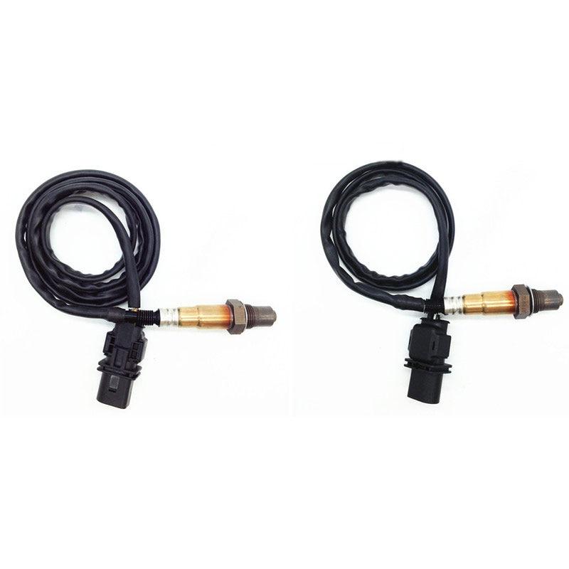 2 pcs Lambda Oxygen Sensor for BMW 125i 325xi 328xi 330xi 525li 530li 630i 730 X1 X3 Z4 before Catalyst 11787558055 11787558073