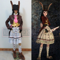 Alice Madness возвращает Косплэй счастливый кролик платье Косплэй костюм