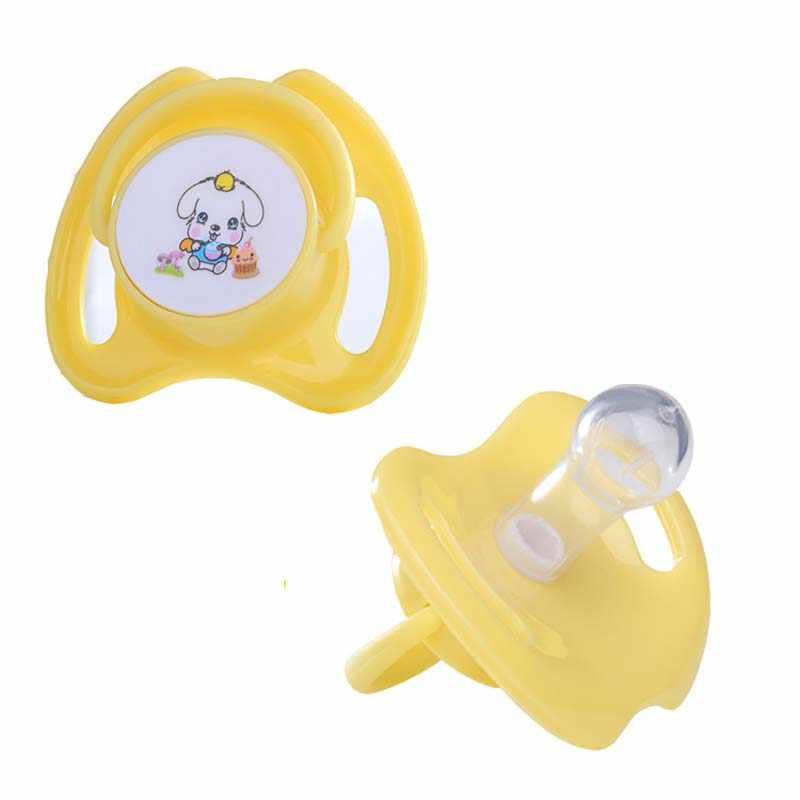 2 uds. Mordedor de silicona suave para bebés, mordedor para pezones, mordedor para bebés sin BPA, chupete para calmar el dolor de la dentición y masaje de las encías infantiles