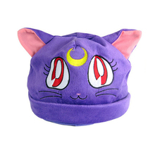 Top Anime Sailor Moon Logo Cotton Hat Winter Warmer Beanie Cap Cosplay Costume Ball Gift New Arrival