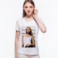Super Star Print Female T Shirt Cool Beyonce Women Tops Street Fashion Couple Clothes Unisex Summer