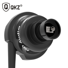 Wholesale QKZ KD5 In Ear Earphone 1DD+1BA Hybrid In Ear Earphones HIFI DJ Metal For Phone MP3 MP4 PC With Mic Headset fone de ouvido
