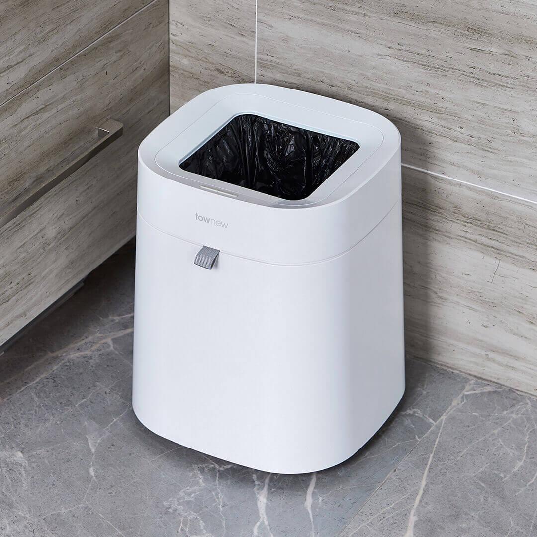 Xiaomi Townew 284x284x342mm T Air poubelle intelligente peut déchets poubelles automatique étanchéité muet Mintpass poubelle - 2