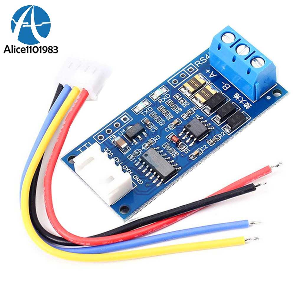 Detail Feedback Questions About Mini Automatic Control Sp485 Ic 5v Arduino Rs485 Wiring Ttl To Power Supply Converter Module Board For Avr Wide Voltage Singal Indicator