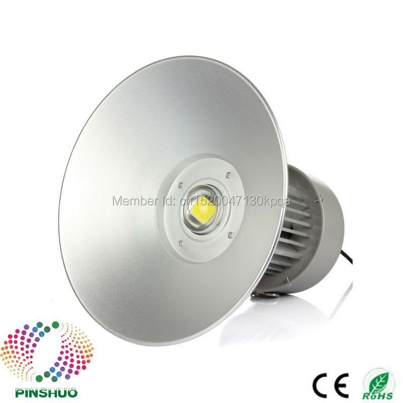 4PCS AC85-265V Warranty 3 Years Brigdelux Chip Thick Housing 100W LED High Bay LED Light Industrial Lamp E40 ac85 265v 100w led high bay light 100w led warehouse lamp cob bridgelux chip 1 100w led industrial lighting lamp