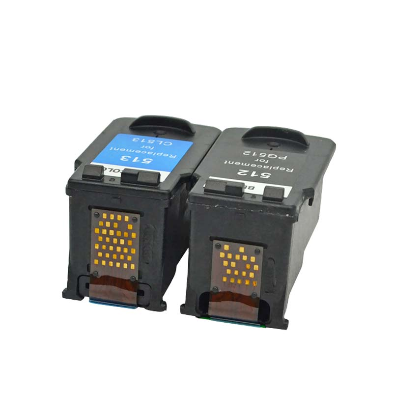 Image 3 - YLC Compatible PG512 CL513 for Canon pg 512 cl 513 ink cartridge for Pixma MP230 MP250 MP240 MP270 MP480 MX350 IP2700 printer-in Ink Cartridges from Computer & Office