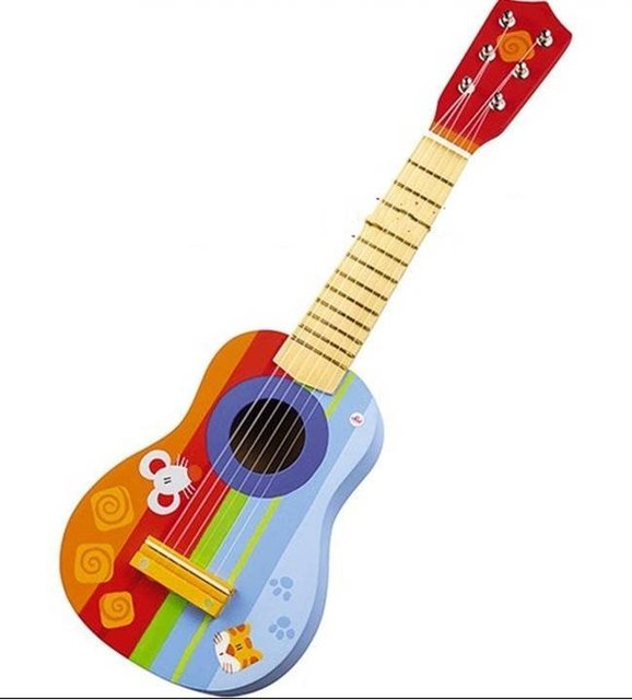 Christmas gift toys handmade wooden Children's Guitar   children's musical instruments